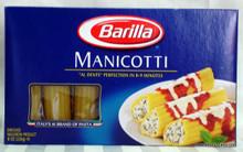 Barilla Manicotti