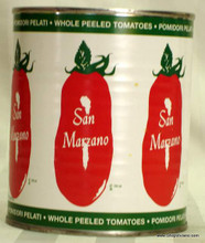 San Marzano Whole Peeled Tomatoes