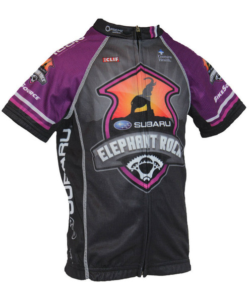 Spindaroos EROCK 2015 Purple Kids Jersey front