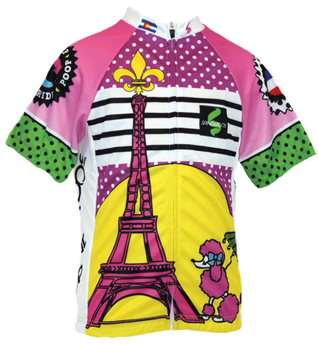 998ba1783 Spin2 Kids Frenchy Cycling Jersey.  39.00. Image 1