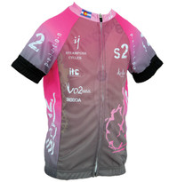 Spin2 Kids Pink Steampunk Cycling Jersey