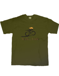 Yeah I Ride Bike T-Shirt