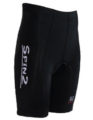 Spin2 Kids Boys Padded Road Bike Shorts