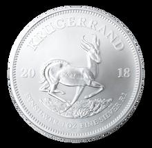Krugerrand 1 Oz Silver Bullion Coin - Reverse.