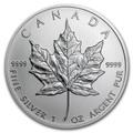Silver Maple Leaf 1 Oz
