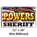 "32"" x 48"" Full Color Mini-Billboard"