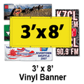 3' x 8' Full Color Vinyl Banner