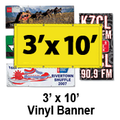 3' x 10' Full Color Vinyl Banner