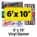 6' x 10' Full Color Vinyl Banner