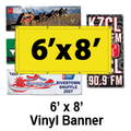 6' x 8' Full Color Vinyl Banner