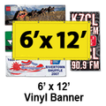 6' x 12' Full Color Vinyl Banner