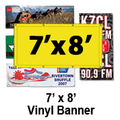 7' x 8' Full Color Vinyl Banner
