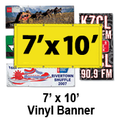 7' x 10' Full Color Vinyl Banner