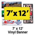 7' x 12' Full Color Vinyl Banner