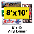 8' x 10' Full Color Vinyl Banner