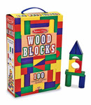 Melissa & Doug Wooden Blocks 100