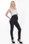Lilac Black Denim Skinny Jean