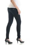 Lilac 5 Pocket Black Ponte Pants