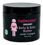 bell♥ease™ Organic Belly & Baby Butter - Lavender & Lemongrass Scent 4oz.