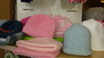 Crocheted Newborn Hats