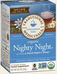 Traditional Medicinals Organic Nighty Night® Tea