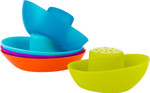 Boon® Fleet Stacking Boats Bath Toys