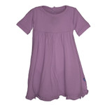 Kickee Pants® Solid Short Sleeve Swing Dress in Pegasus