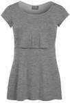 Milk Nursingwear® Sleek Scoop Neck Nursing Top