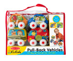 Melissa & Doug® Pull Back Town Vehicles