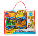 Melissa & Doug® Pull Back Construction Vehicles