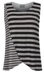 Milk Nursingwear® Striped Tulip Nursing Top