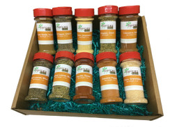 10 Bottle Essential Spice Set
