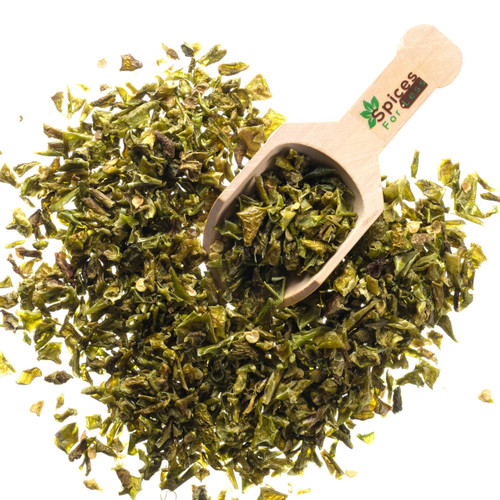 Bell Pepper, Green Flakes