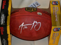 Aaron Rodgers Autographed NFL Game Football with his #12 (2 left)