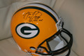 **RARE**Aaron Rodgers Authentic Autographed Packers Proline Helmet with Triple Inscription (and #12!)