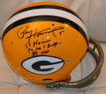 *RARE/EXCLUSIVE* Paul Hornung Signed Authentic Green Bay Packers TK Helmet with Rare Inscriptions