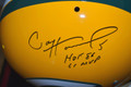 Paul Hornung Signed Green Bay Packers TK Suspension Helmet with Double Inscription
