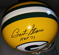 Bart Starr Autographed Official NFL TK (One Bar) Helmet with HOF '77 Inscription (only 1 left)
