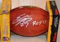 "*Rookie-of-the-Year Special* Eddie Lacy Autographed official NFL Football with ""ROY '13"" Inscription (only 2 left)"