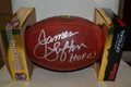 James Lofton signed authentic NFL Football with Hall of Fame inscription