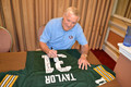 Limited-Edition (10), Exclusive Jim Taylor signed Jersey with FULL Inscriptions
