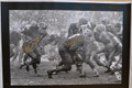 "*CLASSIC* 1965 NFL Championship Game (aka ""Mud Bowl"") canvas signed by Jim Taylor and Paul Hornung (2 available)"