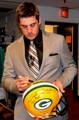 Aaron Rodgers Sports Memorabilia Signing