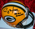 "Clay Matthews Authentic Autographed Green Bay Packers Official NFL Mini-Helmet  with ""SB XLV CHAMPS"" (only 2 left)"