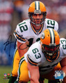 "Aaron Rodgers Green Bay Packers Authentic Autographed 8"" x 10"" ""Under Center"" Photograph"