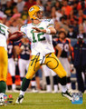 """Aaron Rodgers Green Bay Packers Authentic Autographed 8""""x10"""" """"Ready To Pass"""" Photograph"""