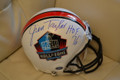 **RARE**LIMITED Jim Taylor Autographed Official NFL Hall of Fame ProLine Helmet with HOF Inscription (only 1)