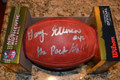 Gary Ellerson signed official Wilson NFL Game Football