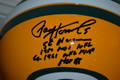 RARE Paul Hornung Signed Official Green Bay Packers Proline Helmet with 4 Inscriptions (only 1)