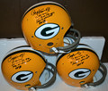 RARE Paul Hornung Signed Official Green Bay Packers TK Helmet with 4 Inscriptions (3 available)
